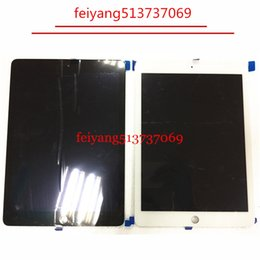 Wholesale Ipad White Digitizer Lcd - Original new Lcd Display with Touch Screen Digitizer for ipad 6  for ipad air 2 A1567 A1566 Black White