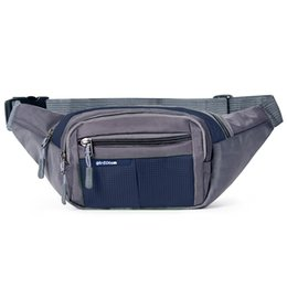 Wholesale Purple Travel Pillow - 2017 New Crossbody Waist Packs Multi-functional Cell Phone Waist Bags Mini Travel Bags Cross Body Chest Bags Small Fanny Pouch