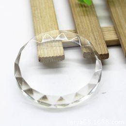 Wholesale Eyelashes Extension Adhesive - Round Eyelash Extension Tool Kit Individual Eyelashes Glue Holder Eye Lash Glue Crystal Stone Eyelash Adhesive Clear Stand