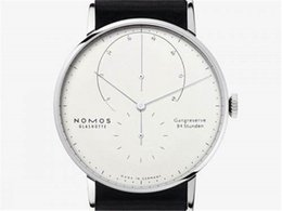 Wholesale German Christmas - German brand NOMOS men's luxury watch Fashion leisure watch montre homme Belt Quartz Men's Watches Reloj Clock Hombre Wristwatches