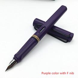 Wholesale Extra Fine Nib - Wholesale-LAMY Safari Purple Fountain pen (Fine Extra Fine Nib) new in box free shipping