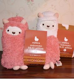 Wholesale Pillow Plush King - 2017NEWGood sleep in Japan AUNT MERRY king Alpaca aromatherapy pillow plush cushion stuffed toys