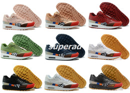 Wholesale Genuine Snake Skin - What the Max 1 Master Snake Skin multicolored Women Men Running Shoes Sport Fashion Maxes 1 Trainer Sneakers 36-46
