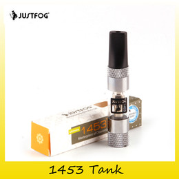 Wholesale Drip Heads - 100% Original Justfog 1453 Tank 1.6ML Capacity 1453 Coil Head Atomazers For Authentic 1453 Drip Tip 2245022