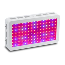 Wholesale Led Grow House - High Power 1200W 1500W Full Spectrum LED Grow Lights square double chip 1000W LED Grow Light for hydroponics plant growth white housing