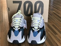 Wholesale Grey Table Runners - Sply Boost 700 Y Boost 700 Kanye West Wave Runner 700 Sneakers Athletic Sneaker with double box sports shoes fashion sneaker Online Cheap