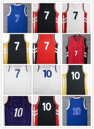 Wholesale Color White Jersey Basketball - Hot 10 DeMar DeRozan 7 Kyle Lowry Throwback Jersey Color Purple Red Black White 31 Terrence Ross 15 Anthony Bennett Shirt 5 DeMarre Carroll