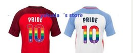 Wholesale Rainbow Jersey - Home White Limited Edition LGBTQ Pride Stadium Jersey,17--18 Jerseys to Celebrate LGBTQ Pride month with rainbow numbers,10 Pulisic Jerseys
