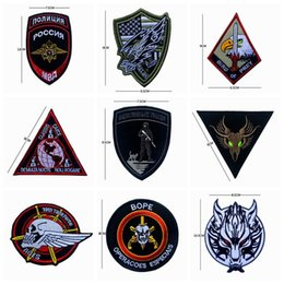 Wholesale Military Biker Patches - VP-218 Embroidery Tactical patches CLASSIS CAECE Dragon military patches jackets biker special project Badges patch iron on patch