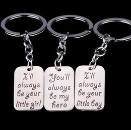 Wholesale Son Led - High quality Burst daughter father daughter son key ring key ring KR008 Keychains mix order 20 pieces a lot