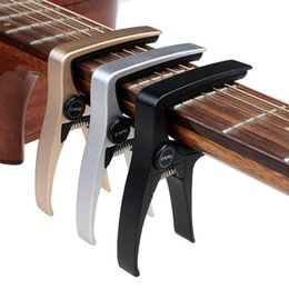 Wholesale Aluminium Capo - Ukulele capo Guitar Capo for acoustic and electric guitarsTotal aluminium material Guitar Accessories