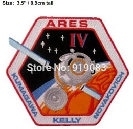 """Wholesale Sew Badges Wholesale - 3.5"""" Star Trek Beyond Ares patch TV movie Series fancy Embroidered sew on iron on applique badge dropship"""