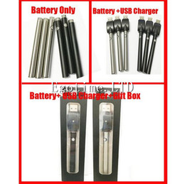 Wholesale E Cigarette Usb Dhl - DHL Bud touch vape pen manual battery with USB Charger 510 thread 280mah capacity button oil o pen vape e cigarette ce3 battery