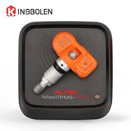 Wholesale Maxitpms Autel - Original Autel MaxiTPMS PAD Tire Programmer + 4pcs MX-Sensor 433MHz 315MHZ Sensor Tyre Programming Auto Tire Pressure