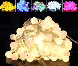 Wholesale Neon Flowers - Indoor Outdoor LED Lantern Flashing Light String Waterproof Full Star Star Festive Decorative Ball Nose Neon Flower Light String