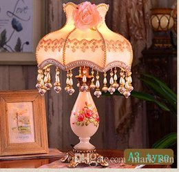 Wholesale Photo Light Table - Europe type style Restoring ancient hotel living room ways Indoor lighting table lamp Free photo frame Free shipping