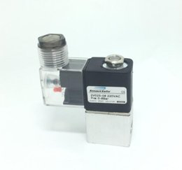 "Wholesale Ac Pressures - 1 4"" bsp 2 Way 2 Position Pneumatic Solenoid Air Valve Aluminium 2V025-08 12V 24V dc ac 110V 220V"
