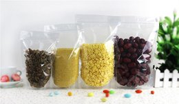 Wholesale Food Support - Factory Outlets 18*26+4 Thickening Transparent Self-supporting Bags Food Packaging and Sealing Bags for Snack Foods Packaging