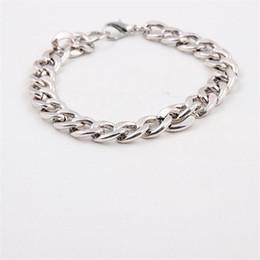 Wholesale Sideways Jewelry - Men Bracelet Fashion Simple And Elegant Fine Jewelry Personality Stainless Steel Men High - End Sideways Side Deduction Bracelets