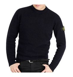 Wholesale Spring Sweaters Zippers - Free shipping 2016 island new spring high quality O-Neck men's cardigan cashmere sweater long-sleeve male jumpers pullover stone sweater