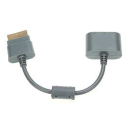 Wholesale Fábrica mayorista cm Cable adaptador de audio dorado para Xbox HDMI AV Cable de audio RCA óptico para Xbox Color gris delgado
