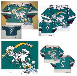 Wholesale Full Wing - Anaheim Throwback CCM Mighty Ducks Wild Wing Jersey 5 DIRR 8 Teemu Selanne 9 Paul Kariya 11 Valeri Karpov Stitched Customized Hockey Jerseys