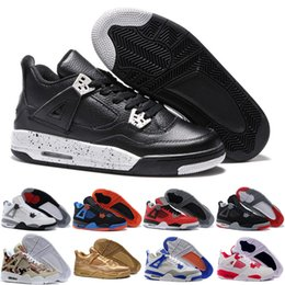 Wholesale Rhinestones Best Price - [With Box] Classic Basketball Shoes Retro 4 Sports Sneakers Best price Men Retros Shoes Man Zapatillas Authentic Original Real Replicas