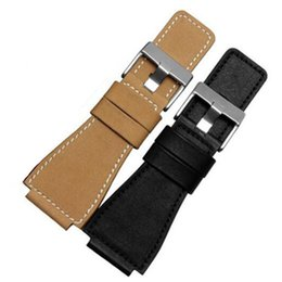 Wholesale bells mm - New For Bell 34x24 mm Generic Watch Strap Band For Ross Whit PVD Silver Clasp Black Khaki For BR +Tool