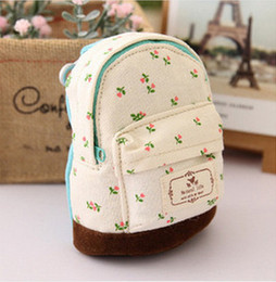 Wholesale Flower Girl Purses - Wholesale- 2016 New Hot Women Girl Children Kids Coin Card Purse Wallet Zipper Bag Pouch Flower Mini Canvas Bags