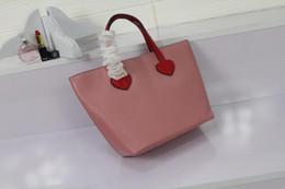 Wholesale Handbag Save - Fashion Bags Women Totes Top quality Genuine leather Save girl heart Cute Fresh handbags size 20*20*9 model 171953426