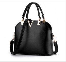 Wholesale Pink White Stripe Sequin - 2016 new women handbag Brand handbag shoulder messenger bags V-shaped fashion women handbags Europe
