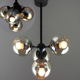 Wholesale Wall Chandelier Lamp - Pendant Lamps (4 5 8 10 16 15 21-Head)contemporary lighting sales modern chandelier Living Room Pendant Wall Lamp Light Lighting
