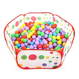 Wholesale Baby Hut - Wholesale-Children Kid Ocean Ball Pit Pool Game Play Tent In Outdoor Kids Hut Pool Play Tent Children's Tent House Indoor Game Baby Toys
