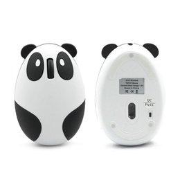 Mouse mão sem fio on-line-Atacado - 2.4GHz Wireless Mouse Óptico Panda Computer para Win / Mac / Linux / Andriod / IOS canhoto