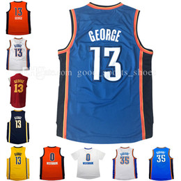 Wholesale cheap men s new paul george jersey kevin durant jersey russell westbrook basketball jerseys stitched free fast shipping
