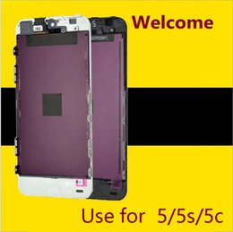 Wholesale Digitizer Screens - Best AAA quality for iPhone 5 5C 5S LCD touch screen digitizer Full set Assembly White and black color with fast shipping
