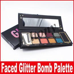 Wholesale Bomb Water - New GLITTER BOMB Professional 10-color Shimmer Matte Beauty makeup eye shadow Palette diamond shining Eyeshadow Palette