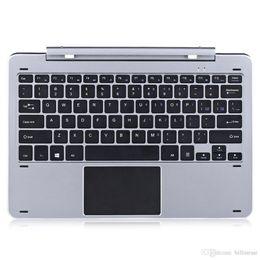 Wholesale Docking Keyboard - Original Keyboards Chuwi Hi12 Docking Keyboard Slim Mode Multi Mode Rotary Shaft Keyboard Magnetic Docking Pogo Pin Separable Design TB