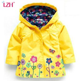 Wholesale Trench Coat Jacket For Boys - LZH 2017 Autumn Winter Girls Jacket For Girls Windbreaker Boys Jacket Kids Raincoat Trench Coat Children Outerwear Girls Clothes