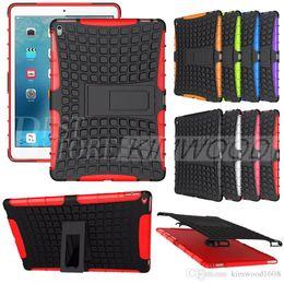 Wholesale Impact Pro - Armor Rugged PC TPU Hybrid Hard Case Impact Shock Proof Kickstand For iPad 2 3 4 Mini Air Pro 9.7 12.9