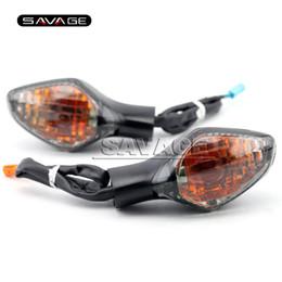 Wholesale Cbr Rear - For HONDA CBR400R CB400X CB400F CB650F CBR650F CBR 400R 650F Smoke Motorcycle Accessories Rear Turn signal Indicator Light Lamp