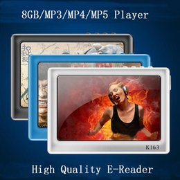 Wholesale E Reader Screen Black - Fashion 8GB 4.3 Inch 720P HD Definition Screen Mp4 Mp5 Music Player+TV out+Video+ebook Reader +Game Player+Photo Viewer