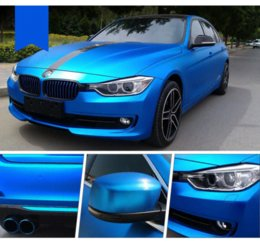 Wholesale Matte Chrome Vinyl Wrap - New 152*50CM Polymeric PVC Matte Chrome Vinyl Car Wraps Sticker Color Changing Car Sticker With Air Bubble Car Styling