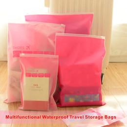 Wholesale L Type Tools - Multifunctional Waterproof Travel Storage Bags Zipper Type Split Mouth Design Good Sealing Frosted Dustproof And Waterproof.