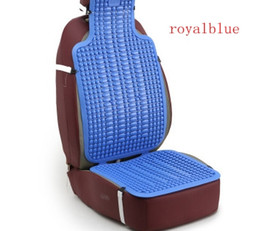 Wholesale automotive plastics - Automotive Summer Cool Mats Car Truck Van Minibus Plastic Breathable Cushions Universal Mat Summer Essential Office Seat Cushion