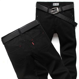 Wholesale Mens Pants Patterns - Wholesale-High Quality True jeans men famous brand fashion leisure men's jeans Fashion Long Straight Denim mens jean Male Pants Trousers