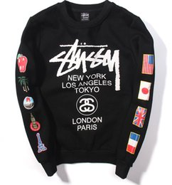 Wholesale Designer V Neck Men - Designer purpose tour hoodies for men women fleece sweatshirt sweats Harajuku streetwear palace hoodie mens hip hop nasa hoodies