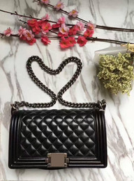 Wholesale Sheep Small - Classic female bag chain shoulder strap with sheep leather inclined shoulder bag