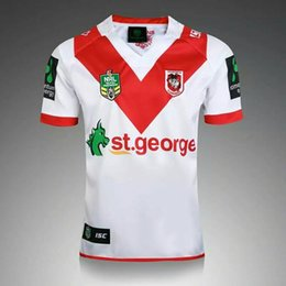 Wholesale George Shirts - Thai quality New Zealand 2017 Rugby New St George Illawarra Dragons NRL 2017 Home SS Rugby Shirt St George Illawarra Dragons Rugby Jersey
