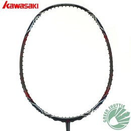 Wholesale Best Kawasaki - 2017 Six Star 100% Genuine Kawasaki The Best Quality Badminton Racket Professional Offensive Powerful Badminton Racquets
